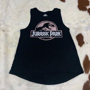 Rarely Worn Jurassic Park Tank